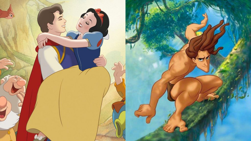 Disney: Snow White and Tarzan