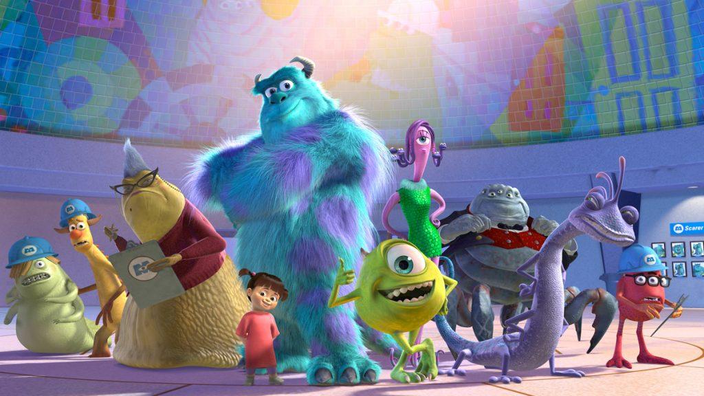 Pixar: Monsters Inc