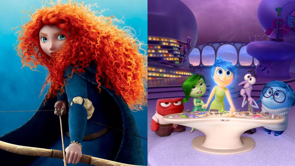 Pixar: Brave Inside Out